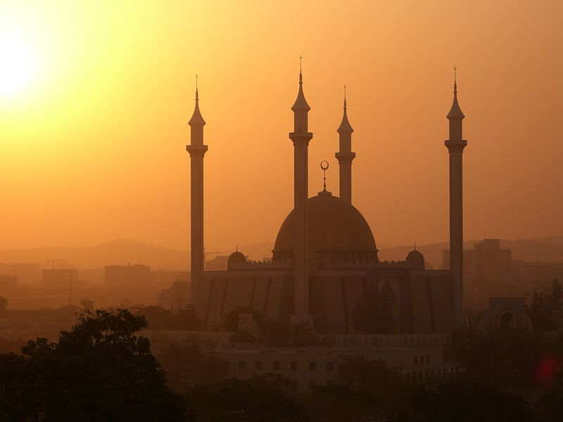 National Mosque, Abuja (Photo by Kipp Jones, Wikimedia Commons)