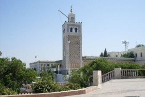 The Mosque of the Kasbah, Tunis (Rais67, Wikimedia Commons)