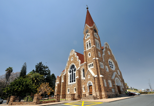 Christ Church, Windhoek, Namibia (Shutterstock)