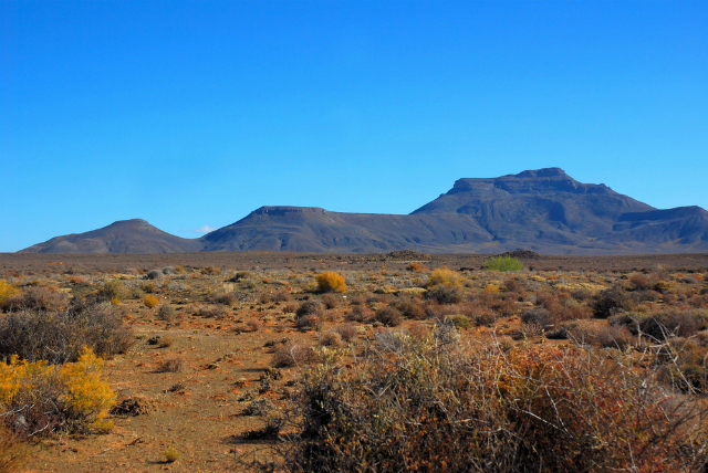 View of the Hantam mountains from the Northern Cape town of Calvinia, South Africa (Shutterstock)