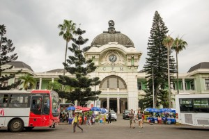 Maputo railway station (photo by Sarah Duff)