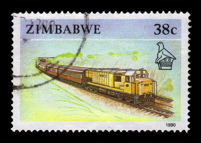 A Zimbabwean train circa 1990 (irisphoto1 / Shutterstock)
