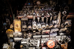 Antique cameras at a souk in Marrakech (Luisa Puccini / Shutterstock)