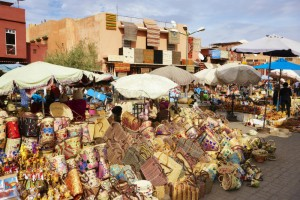 A souk in the Marakech medina (Shutterstock)