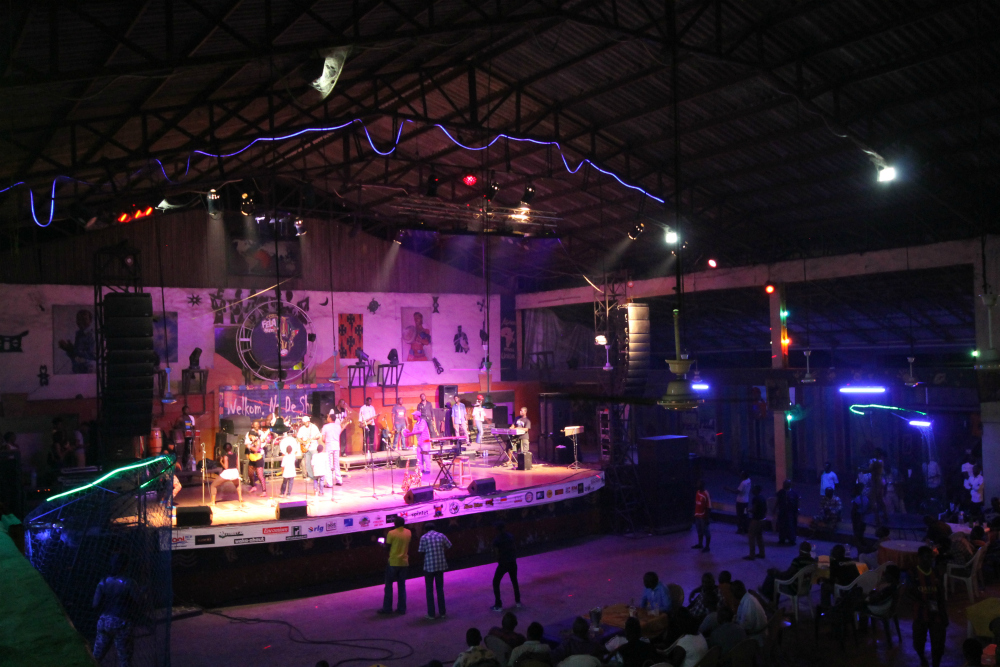 New Afrika Shrine, Lagos (Photo by Grant Martin)