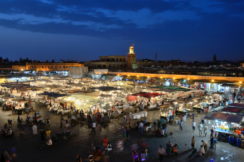 Djemma el Fna, Marrakech (astudio / Shutterstock.com)