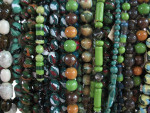Beads from Kazuri, Nairobi. Photo by Susan McKee