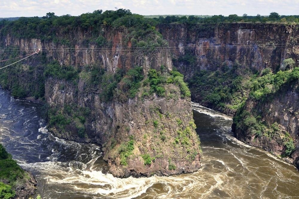 Zambezi River near Victoria Falls, Zimbabwe (Shutterstock)