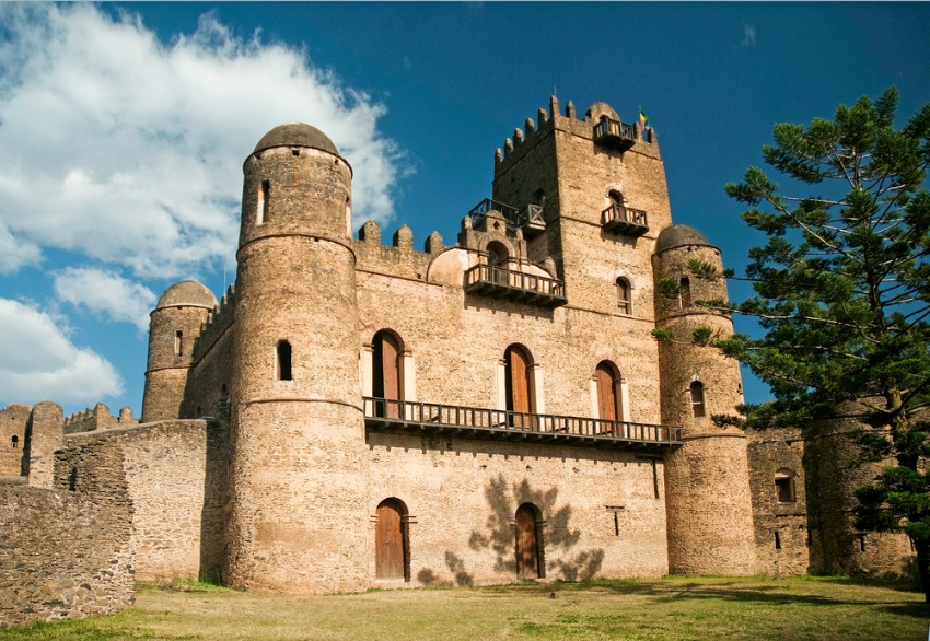 Gondar Castle, Ethiopia (Shutterstock)