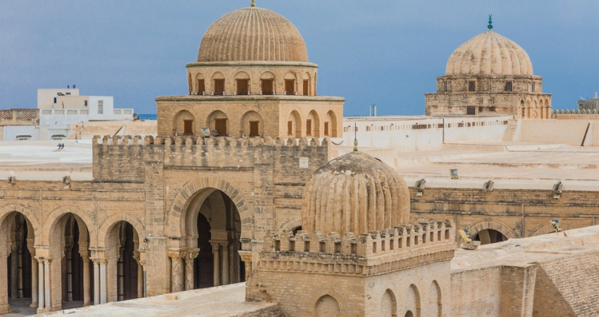 Grand mosque in Kairouan, Tunisia (Shutterstock)