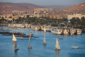 The Nile River at Aswan, Egypt (Shutterstock)