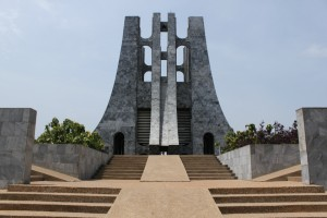 Nkrumah Mausoleum, Accra (photo by Nathan Midgley)