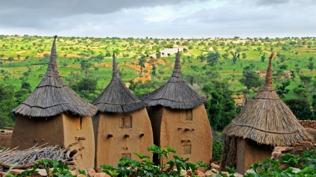 A Dogon village in Mali (Shutterstock)