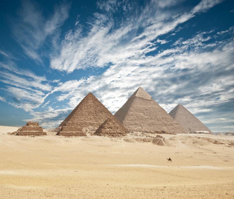 Pyramids at Giza, Egypt (Shutterstock)
