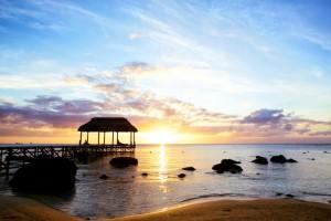 Sunset in Mauritius (Shutterstock)