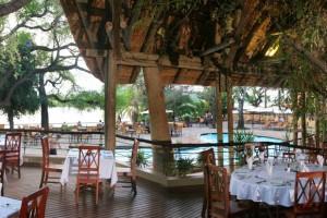 Dining room at Chobe Safari Lodge, Botswana (courtesy of Chobe Safari Lodge)