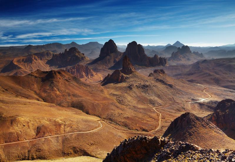 Hoggar Mountains, Algeria (Shutterstock)