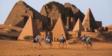 nubian desert sudan