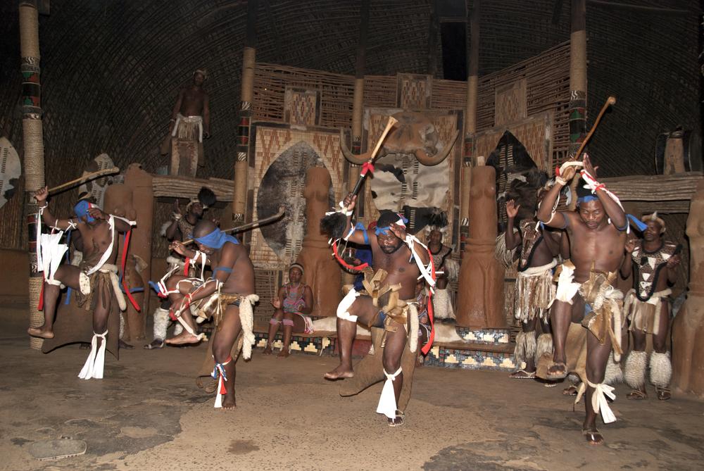 Dancers at Shakaland Zulu Cultural Village, KwaZulu-Natal, South Africa (meunierd / Shutterstock)