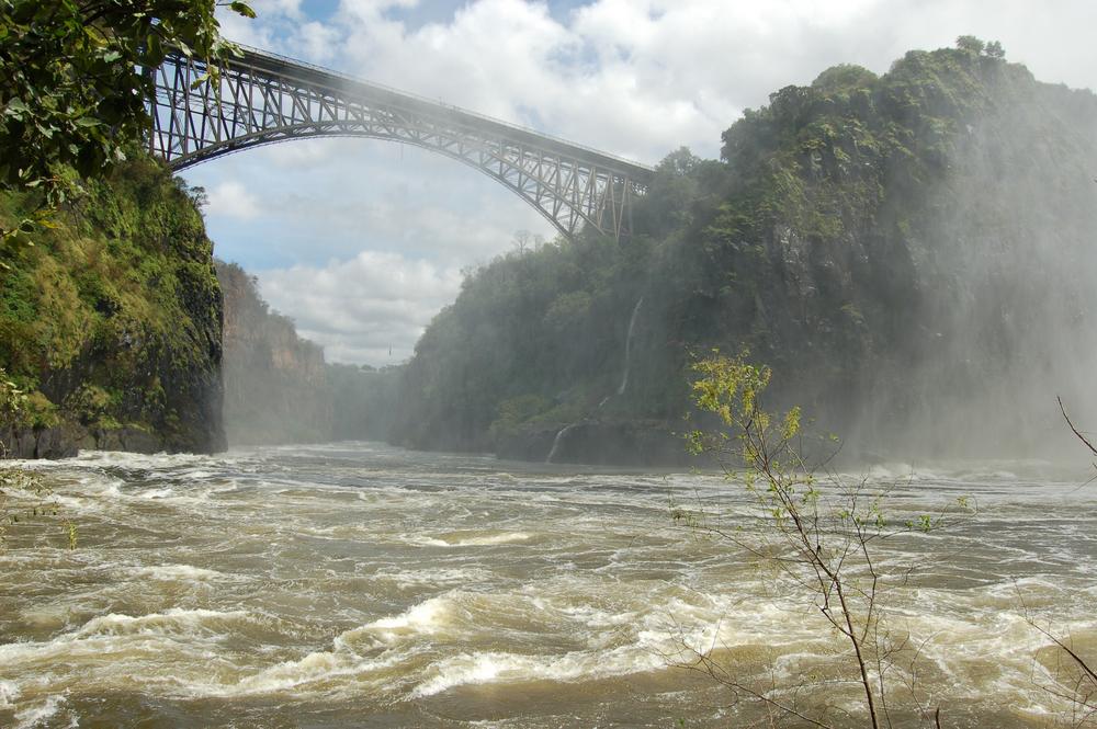Victoria Falls Bridge (Shutterstock)