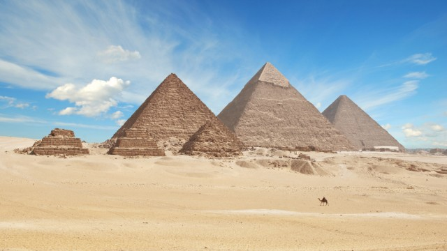 an overview of the egyptian pyramids in ancient egypt Egypt is a land of huge ancient monuments and islamic  overview of precinct of  with the ancient egyptian cities of memphis and the pyramids of.