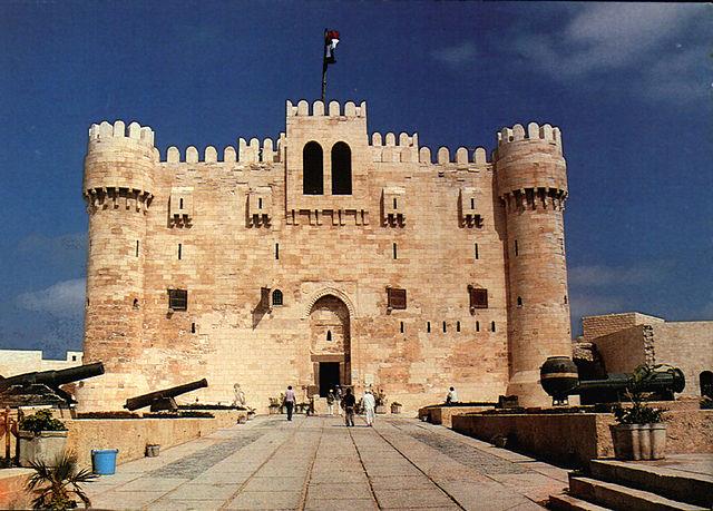 Citadel of Qaitbay (Wikimedia Commons)