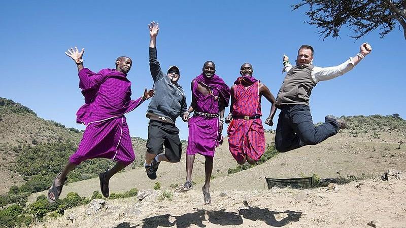 The Maasai, Kenya (Christopher Michel/Wikimedia Commons)