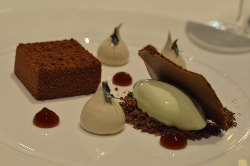 hocolate dessert at Five Hundred/ Rishav Nair