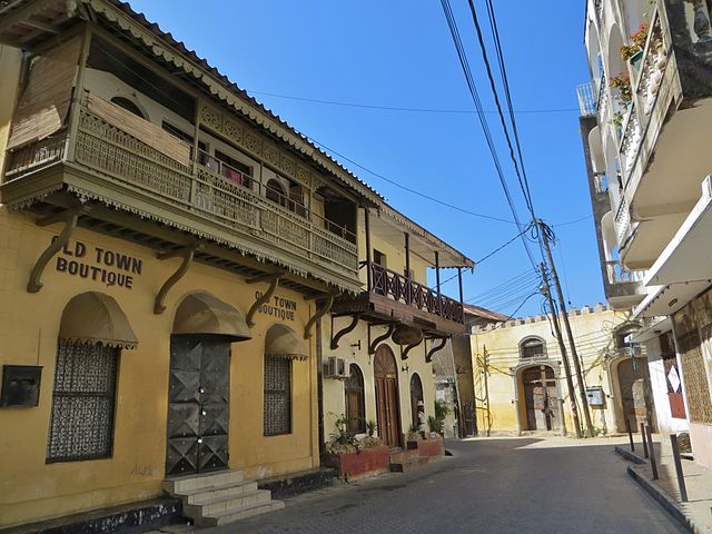 Mombasa Old Town (FredD/Wikimedia Commons)