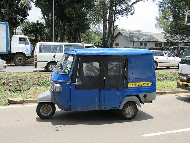 Tuktuk (daryona/Wikimedia Commons)