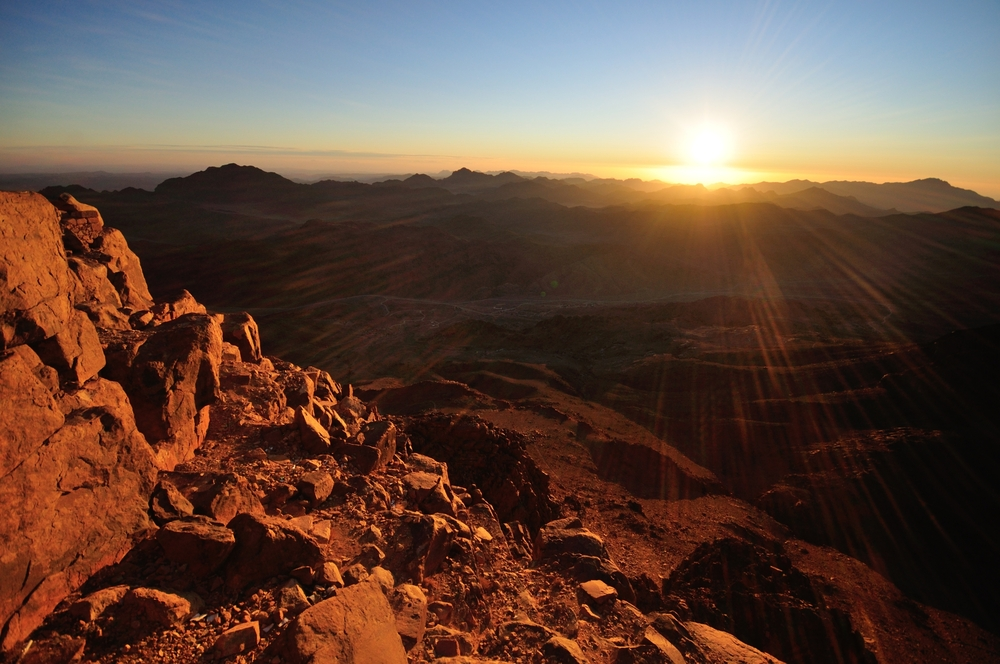 Spiritual Hiking on Mount Sinai