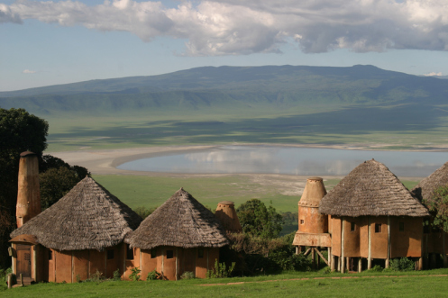 Ngorongoro Crater Lodge (courtesy http://www.craterlodge.com/)