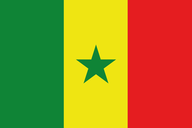West African Flag Colors