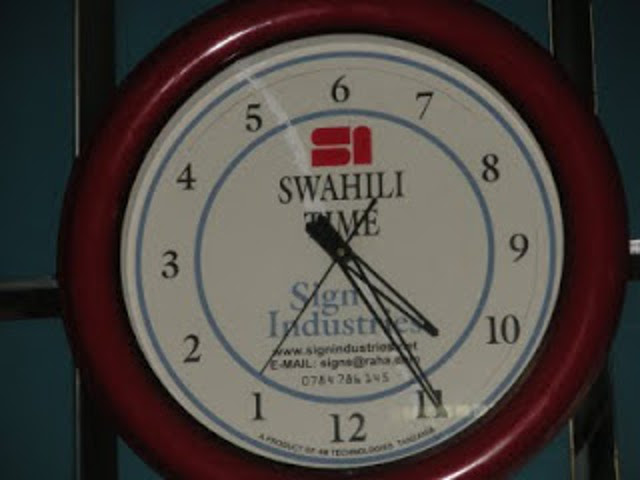 swashili clock