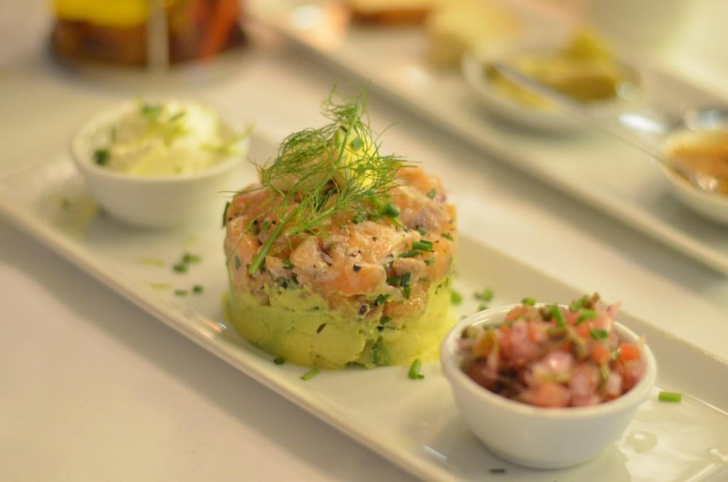 Salmon at The Winehouse/ Rishav Nair