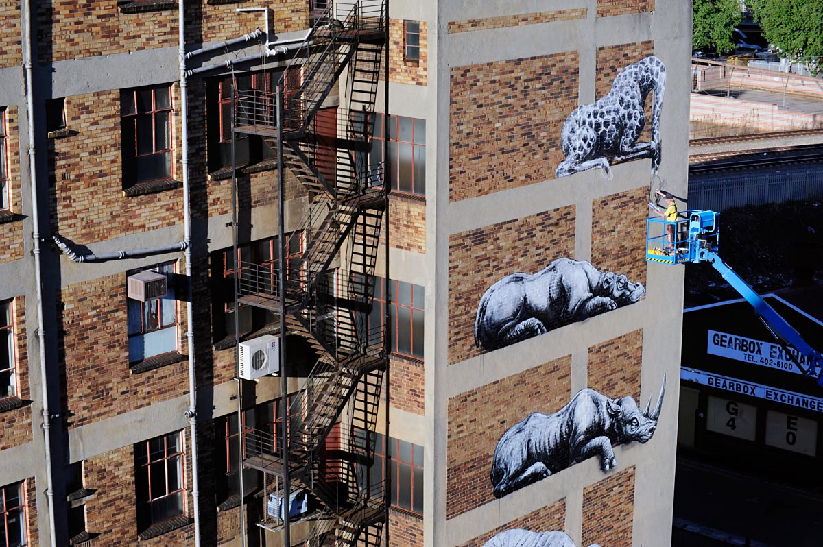 Great places to see public art in south africa page 4 for African mural painting