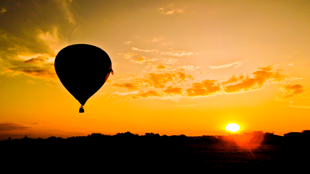 Hot Air Ballooning in Magaliesburg, South Africa