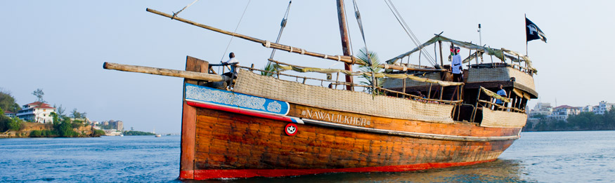 The Nawalilkher Dhow (Courtesy of The Tamarind Dhow)