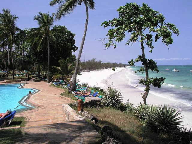 Diani Beach (Source: Flickr.com)