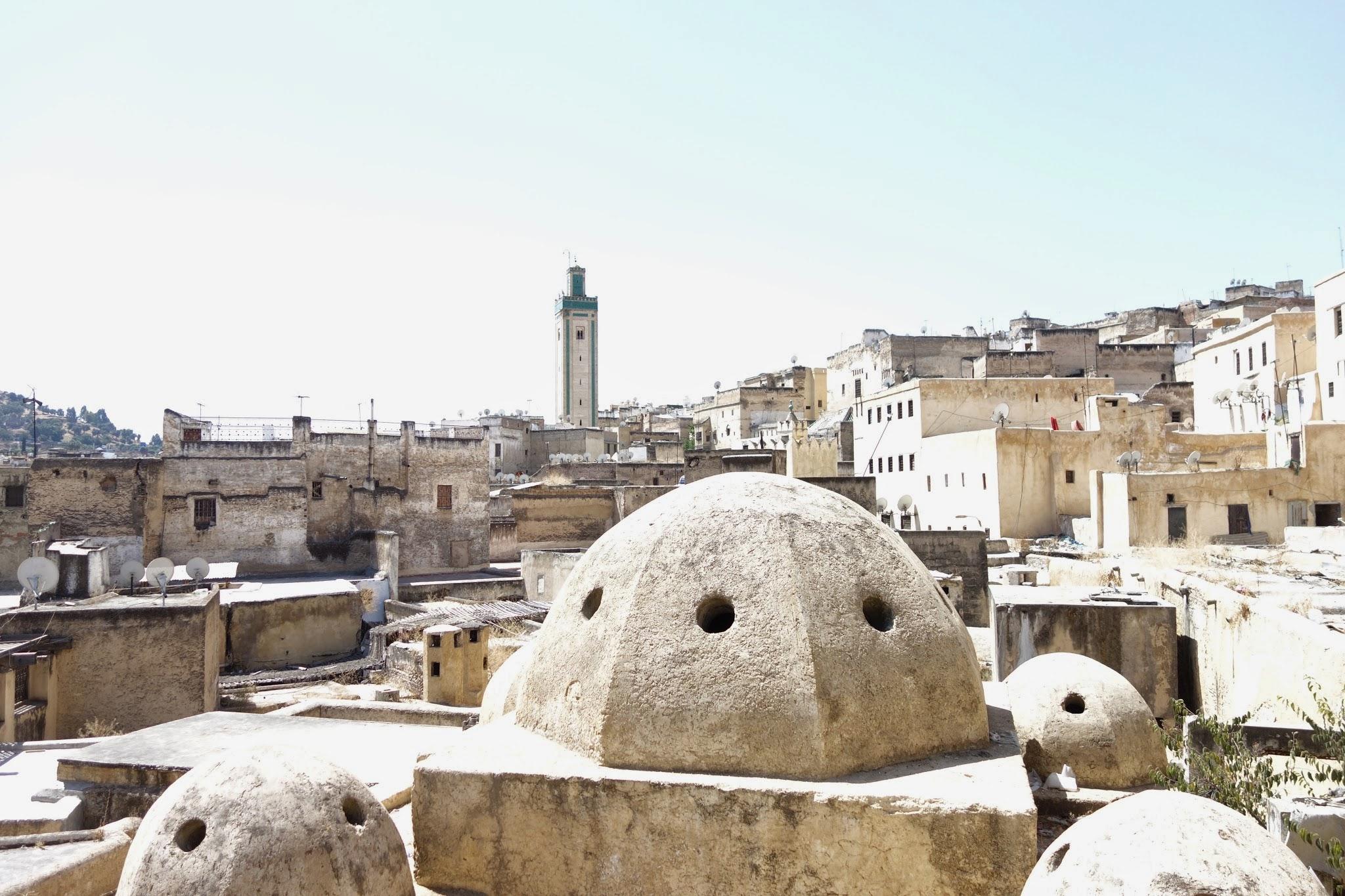Fez rooftops