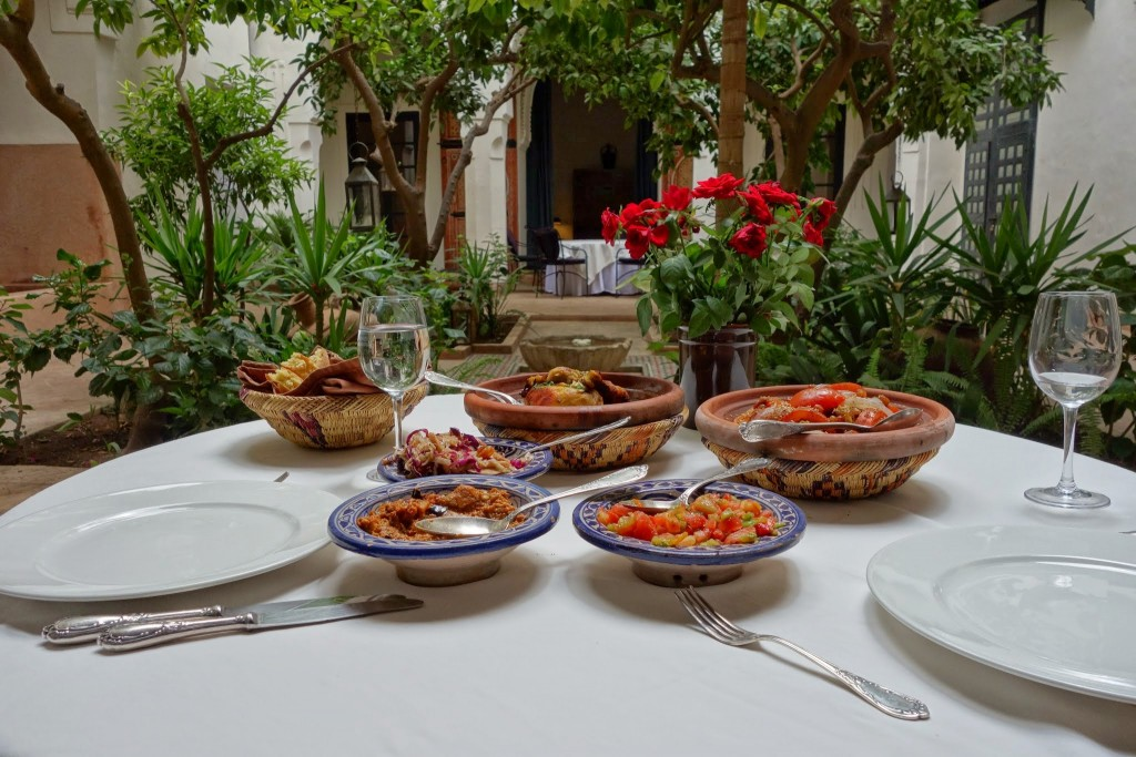 Riyad el Cadi cooking class