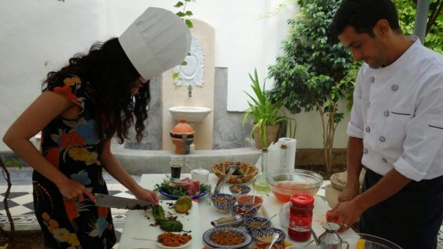 learn to cook in marrakech