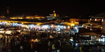 Marrakech djemaa el fna