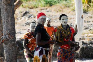Makua women in Pangane
