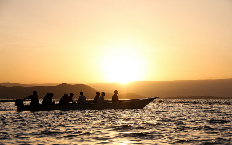 Sunrise at Lake Baringo (Jessica Keating/Flickr)