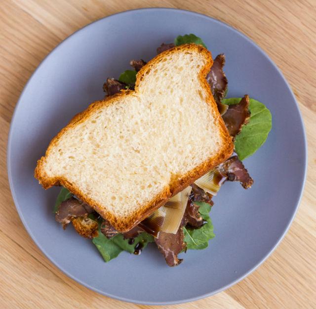 biltong sandwich