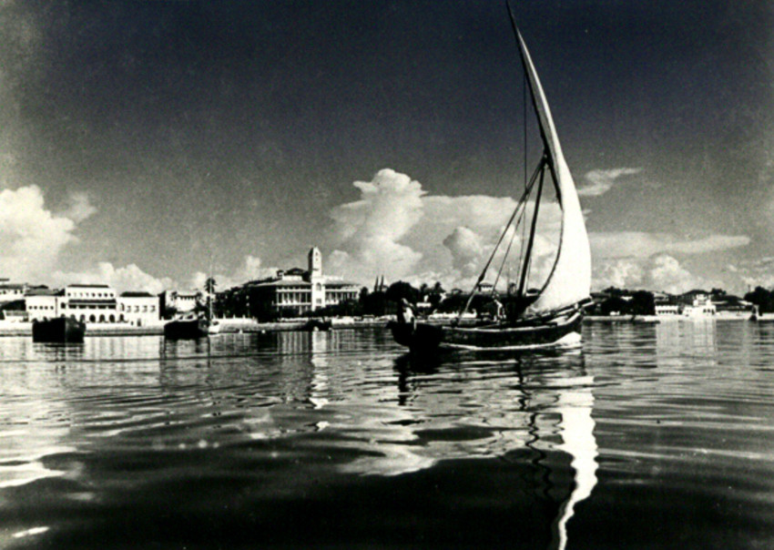 Throwback Thursday Photo Of The Day: Dhow In Zanzibar