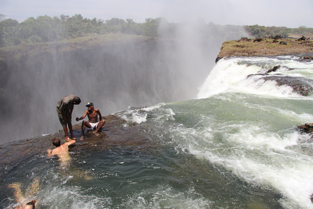 8 great ways to see victoria falls afktravel for Devils swimming pool victoria falls