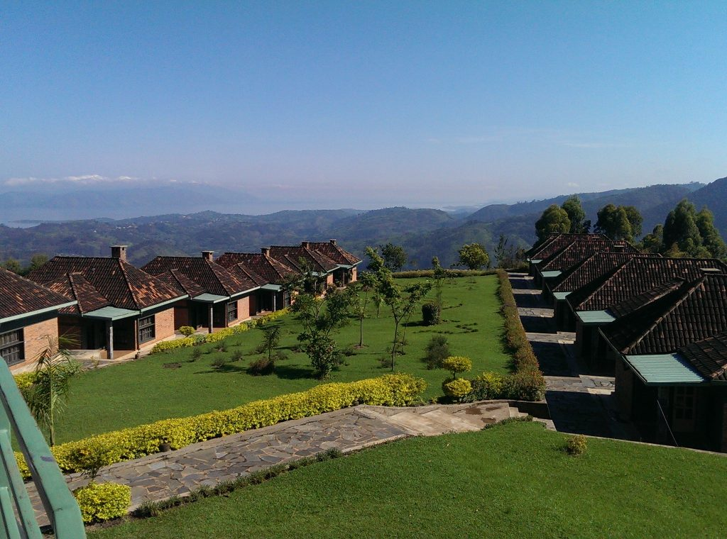 Top View Hotel, just outside Nyungwe National Forest (author photo)
