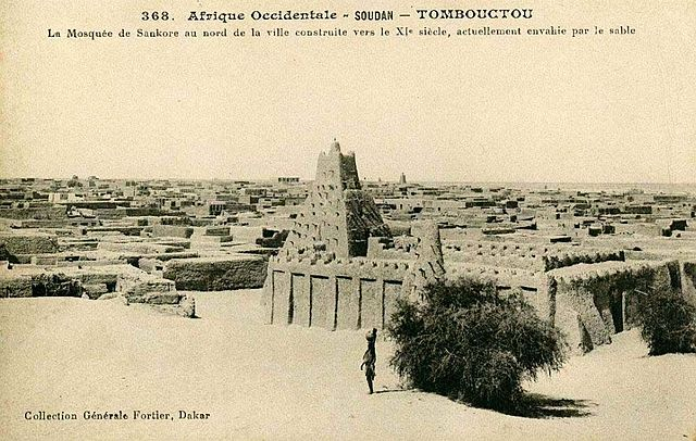 Timbuktu a century ago (Edmond Fortier/Wikipedia Commons)